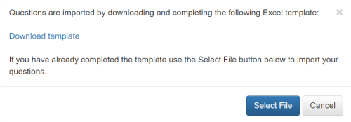 download bulk upload questions template