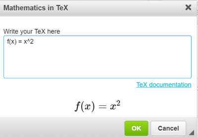 quiz question with math equation