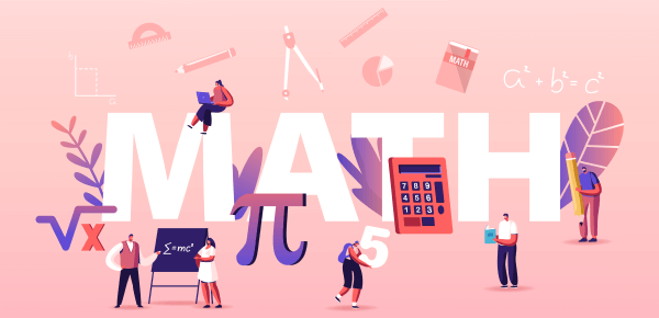 Math test graphic